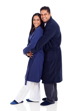 indian-couple-snuggling