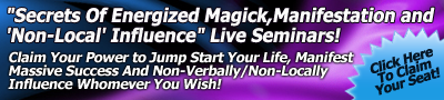 Claim your power to jump-start your life, manifest massive success, and non-verbally/non-locally influence whomever you wish!