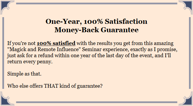 magick-remote-influence-seminar-guarantee