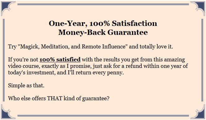 magickmeditationremoteinfluence-guarantee
